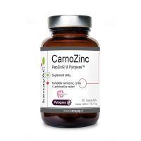 CarnoZinc PepZinGI & Pylopass - L-Karnozyna + Cynk + Lactobacillus Reuteri DSM 17648 (60 kaps.) KenayAG