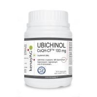Ubichinol - Koenzym Q10 CoQH-CF 100 mg (300 kaps.) Soft Gel
