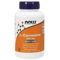 L-Karnozyna 500 mg - L-Carnosine (100 kaps.) NOW Foods