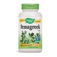 Fenugreek - Kozieradka 610 mg (180 kaps.) Nature's Way
