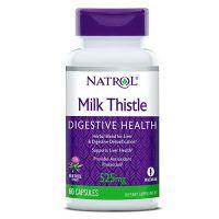 Milk Thistle Advantage - Ostropest (Sylimaryna) + Mniszek + Łopian + Rzodkiew Czarna + Imbir + Pietruszka (60 kaps.) Natrol