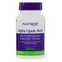 ALA - Kwas Alfa Liponowy 300 mg (50 kaps.) Natrol