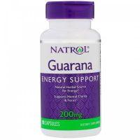 Guarana 200 mg ekstrakt 4:1 (90 kaps.) Natrol