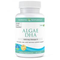 Algae DHA - Omega 3 DHA 500 mg (60 kaps.) Nordic Naturals