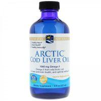 Arctic Cod Liver Oil - arktyczny Olej z Wątroby Dorsza (237 ml) Nordic Naturals