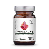 Żurawina 250 mg ekstrakt 4:1 (90 tabl.) Aura Herbals