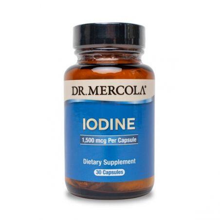 Iodine - Jodek Potasu (Jod - stabilna forma) 1500 mcg (30 kaps.) Dr Mercola