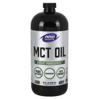 MCT Oil - Olej MCT bezzapachowy (946 ml) NOW Foods