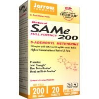 SAMe Full Potency 200 - S-Adenozylo L-Metionina 200 mg (20 tabl.) Jarrow Formulas