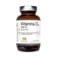 Witamina D3 2000 IU (60 kaps.) Soft Gel