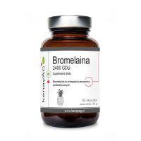 Bromelaina 2400 GDU (60 kaps.) KenayAG