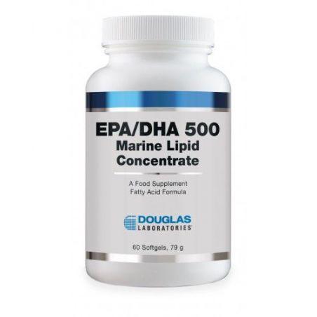 EPA/DHA 500 - EPA Kwas eikozapentaeonowy 300 mg + DHA Kwas dokozaheksaenowy 200 mg (60 kaps.) Douglas Laboratories