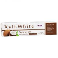 Pasta do zębów kokosowa - XyliWhite Coconut Oil Toothpaste Gel with Mint Flavor (181 g) NOW Foods