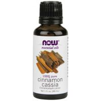 100% Olejek Cynamonowy Cinnamon Cassia - Cynamon (30 ml) NOW Foods