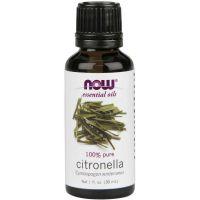 100% Olejek z Citronelli (Citronella) - Cytronelowy (30 ml) NOW Foods