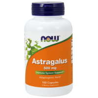 Astragalus - Traganek 500 mg (100 kaps.) NOW Foods