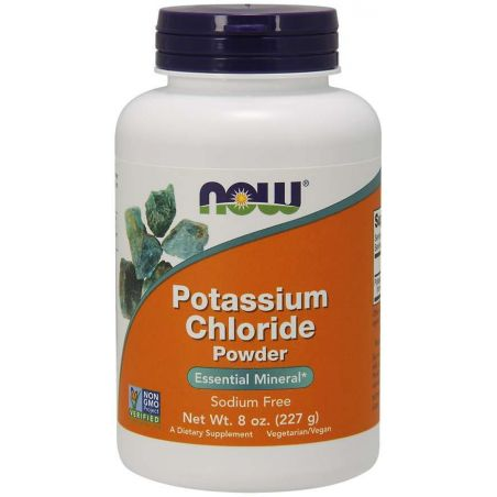 Potassium Chloride - Chlorek Potasu (227 g) NOW Foods