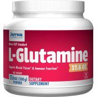 L-Glutamina (500 g) Jarrow Formulas