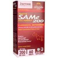 SAMe Full Potency 200 - S-Adenozylo L-Metionina 200 mg (60 tabl.) Jarrow Formulas