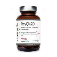 ResQNAD - trans-Resweratrol + fitosomowa Kwercetyna + NAD (60 kaps.) Kenay AG