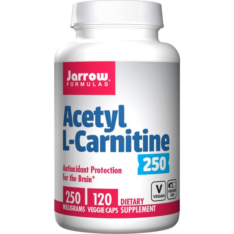 Acetyl L-Karnityna HCI 250 mg (120 kaps.) Jarrow Formulas