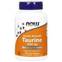 Taurine - Tauryna 1000 mg (100 kaps.) NOW Foods