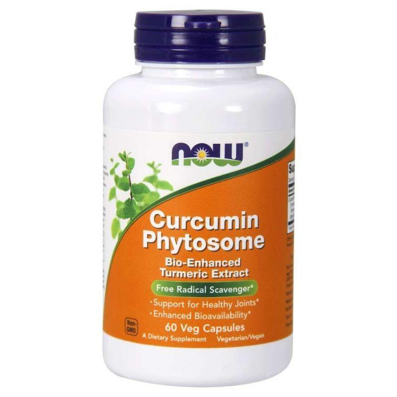 Curcumin Phytosome - Kurkuma 500 mg (60 kaps.) NOW Foods