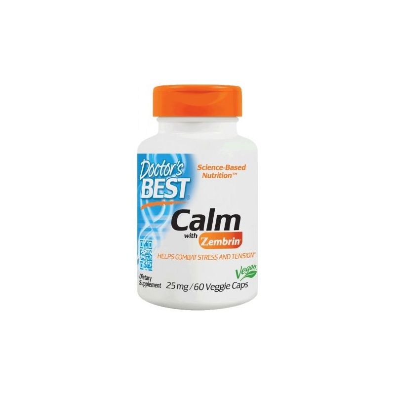 Calm with Zembrin (Kanna) 25 mg - Sceletium Tortuosum (60 kaps.) Doctor's Best