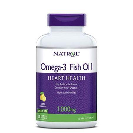Omega-3 Fish Oil 1000 mg (150 kaps.) Natrol