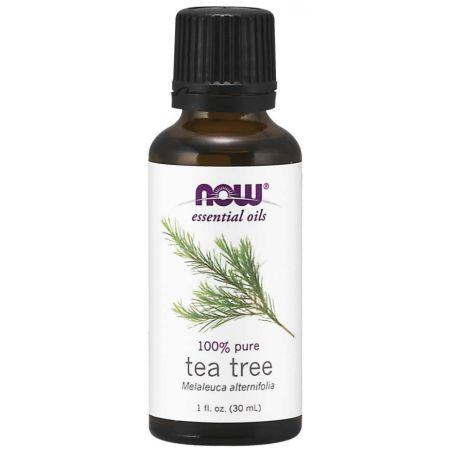 100% Olejek z Drzewa Herbacianego - Drzewo Herbaciane (30 ml) NOW Foods