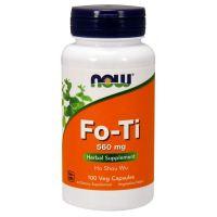 Fo-ti (He-Shou-Wu) - Rdest Wielokwiatowy 560 mg (100 kaps.) NOW Foods