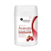Acerola - naturalna Witamina C (250 g) Aliness