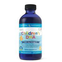 Childrens DHA - DHA i EPA dla dzieci o smaku truskawkowym (237 ml) Nordic Naturals