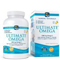 Ultimate Omega - Omega 3 o smaku cytrynowym 640 mg (180 kaps.) Nordic Naturals