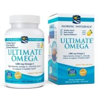 Ultimate Omega - Omega 3 o smaku cytrynowym 640 mg (60 kaps.) Nordic Naturals