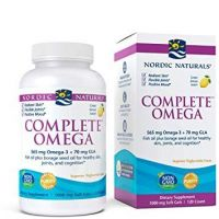 Complete Omega - Omega 3 + GLA o smaku cytrynowym (120 kaps.) Nordic Naturals