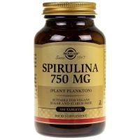 Spirulina 750 mg (100 tabl.) Solgar