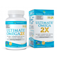 Ultimate Omega 2X - Omega 3 o smaku cytrynowym (60 kaps.) Nordic Naturals
