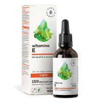 Witamina E Forte w oleju MCT (50 ml) Aura Herbals