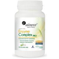 Enzyme Complex PRO - Roślinne Enzymy Trawienne (90 kaps.) Aliness