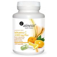 Witamina C 1000 mg Plus (100 kaps.) Aliness