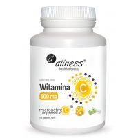 Witamina C 500 mg o przedłużonym uwalnianiu (100 kaps.) Aliness