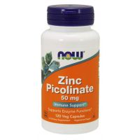Zinc Picolinate - Pikolinian Cynku 50 mg (120 kaps.) NOW Foods