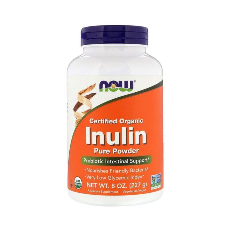 BIO Inulina (227 g) NOW Foods