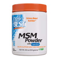 Siarka MSM - OptiMSM Metylosulfonylometan (250 g) Doctor's Best
