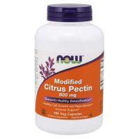 PectaSol-C - zmodyfikowane Pektyny Cytrusowe 800 mg (180 kaps.) NOW Foods