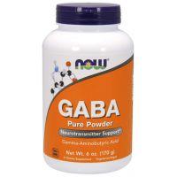 GABA - Kwas Gamma Aminomasłowy (170 g) NOW Foods