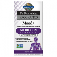 Mood+ Probiotics (60 kaps.) Garden of Life