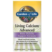 Living Calcium Advanced (120 kaps.) Garden of Life