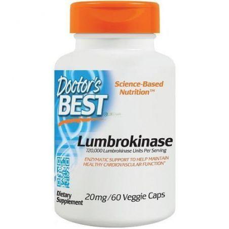 Lumbrokinase - Lumbrokinaza 20 mg (60 kaps.) Doctor's Best